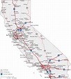 Map of California Cities - California Road Map