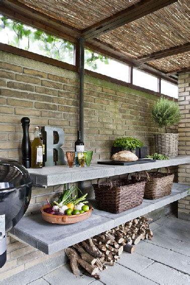 cuisine de jardin en cuisine extérieure 6 aménagements pour l 39 eté deco cool