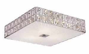 Ceiling lighting square flush mount light