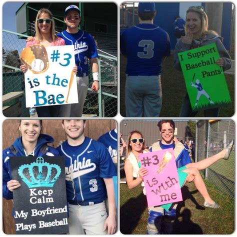 baseball signs for the boyfriend you should ve seen