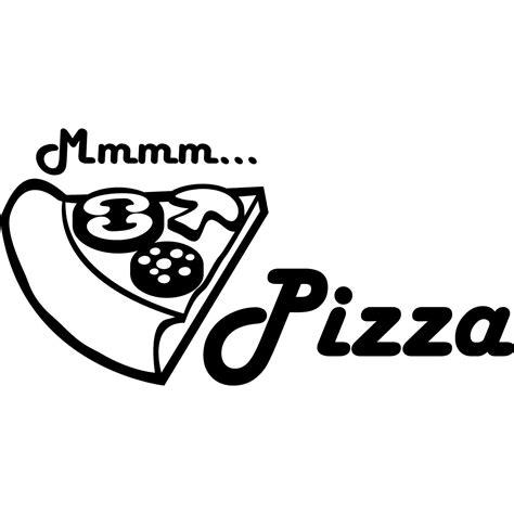 stickers pour la cuisine stickers muraux pour la cuisine sticker mmm pizza