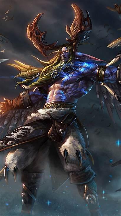 Malfurion Wow 4k Stormrage Warcraft Phone Wallpapers