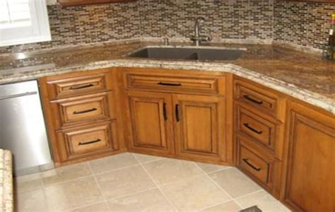 corner kitchen sink cabinet dimensions best 20 corner kitchen sinks ideas on white 8358