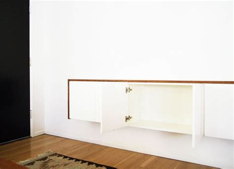 How To Hang Ikea Besta Cabinets by Diy Ikea Hack Akurum Suspension Rail System Using Wall