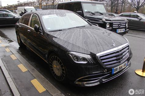 There are two main things that distinguish the s560 4matic from its more powerful sibling, the s650; Mercedes-Maybach S 650 X222 - 13 December 2017 - Autogespot