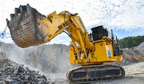 komatsu release pc mining excavator