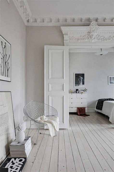 entre minimalisme scandinave  moulures visite deco