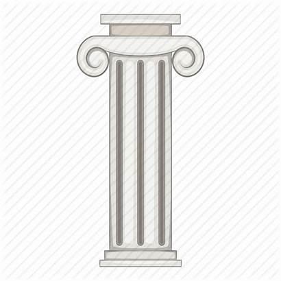 Pillar Clipart Column Plasmid Cartoon Cloning Transparent