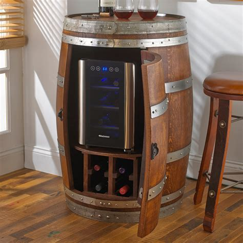 Dining Room: Awesomely Creative Whiskey Barrel Furniture