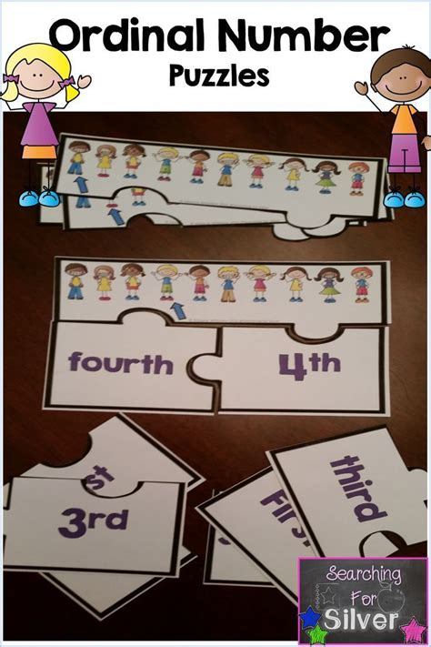 7 best math ordinal numbers images on pinterest ordinal