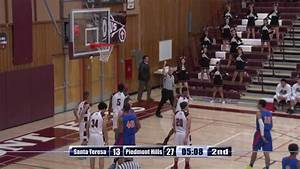 High School Boys Basketball: Santa Teresa at Piedmont ...