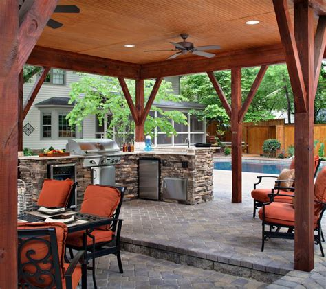 outdoor patio bar 20 spectacular outdoor kitchens with bars for entertaining