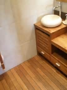 sol teck salle de bain salle de bain sol teck maison design mochohome