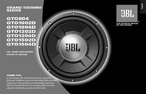 Jbl Gto 1002d User Guide    Operation Manual  U2014 View Online