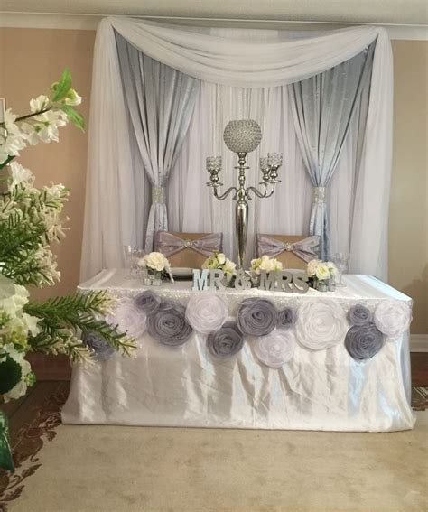 69 Best Images About Head Table Backdrops On Pinterest