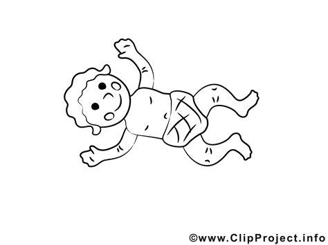 baby mit windel clipart zum ausmalen