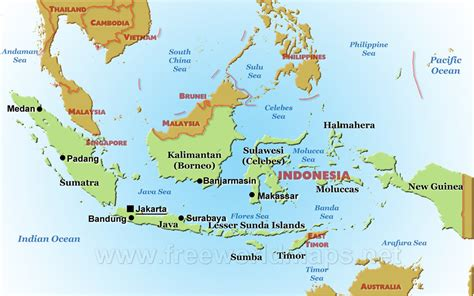 physical features  indonesia interest  indonesia
