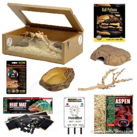 ball python heat l off at night exotic pets royal python kit complete setup for royal