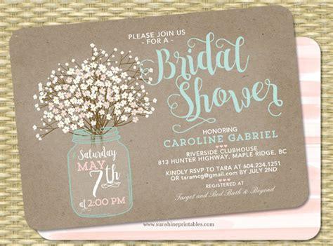 printable bridal shower invitation designs psd ai