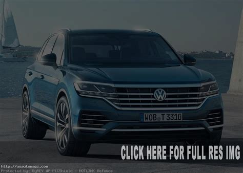 Volkswagen Vision 2020 by 2020 Vw Touareg Usa Release Date And Price 2019 Auto Suv