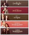 The Twilight Saga (Twilight, #1-4) by Stephenie Meyer ...