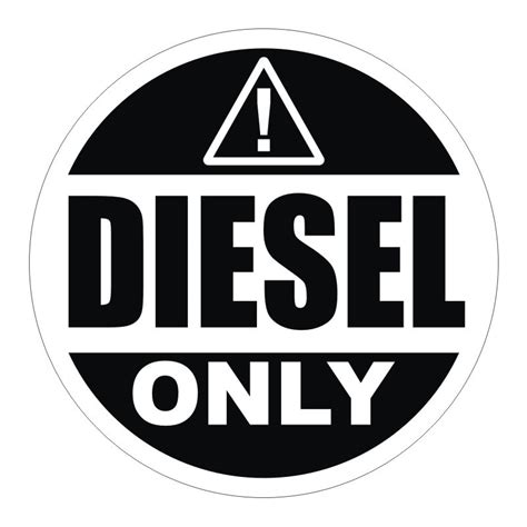 chrome jeep accessories 2 inch diesel only vinyl decal sticker label fuel door