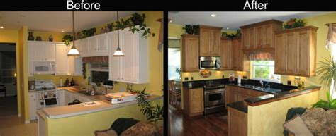 before and after small kitchen makeovers cocinas reformadas antes y despu 233 s gran cambio 9090