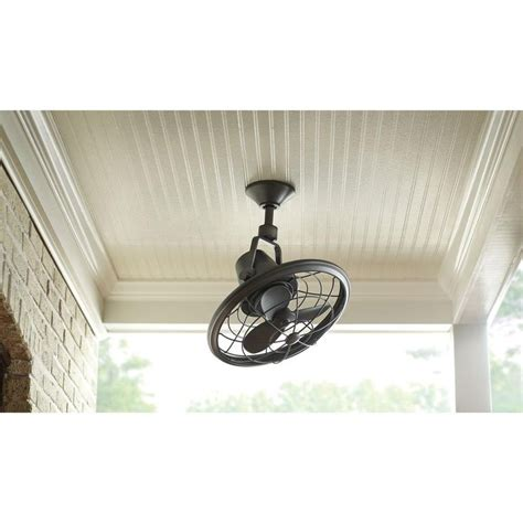 outdoor oscillating ceiling fan home decorators collection bentley ii 18 in outdoor