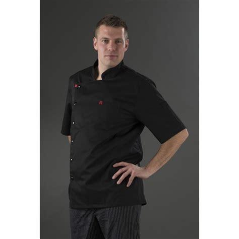 veste de cuisine homme noir veste de cuisine noir homme manches courtes my tablier