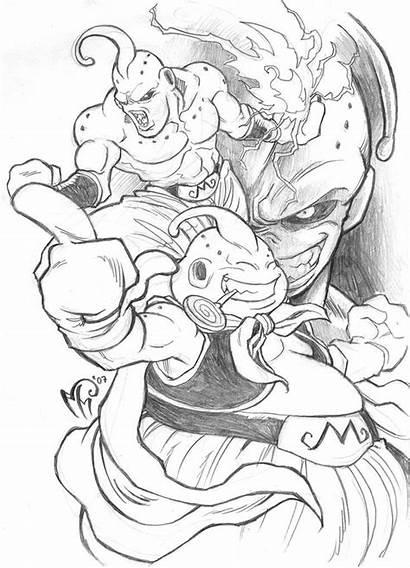 Majin Boo Buu Deviantart Dragon Ball Dbz
