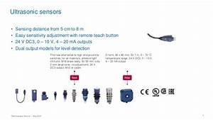 Telemecanique Sensors Briefing Ultrasonic Sensors