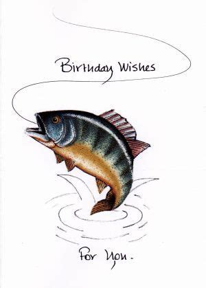 trout    birthday card  kalicokards  etsy