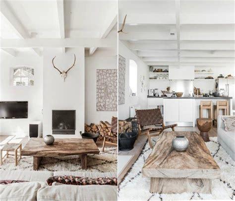 bout de canapé design tendance déco salon un mix de couleurs et de meubles
