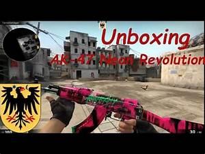 Unboxing AK 47 NEON REVOLUTION [Gamma 2 Case]