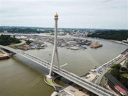 Brunei Bridge Sungai Grand Brn