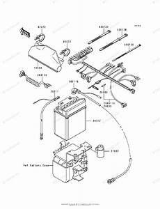 Kawasaki Atv 1989 Oem Parts Diagram For Electrical