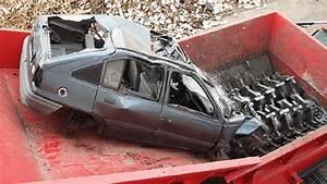 Extreme Dangerous Car Crusher Machine In Action  Crush
