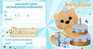 Texte Anniversaire 1 An Garçon : invitation anniversaire pour b b 1 an 123cartes ~ Melissatoandfro.com Idées de Décoration