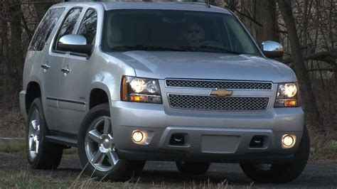 2012 Chevrolet Tahoe  Drive Time Review With Steve Hammes