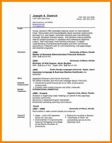 Templates For Resumes Microsoft Word by 13 Cv Resume Template Microsoft Word Theorynpractice