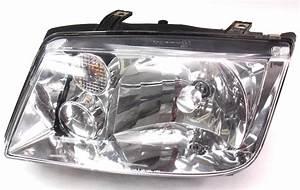 Lh Headlight Head Light Lamp 99-02 Vw Jetta Mk4
