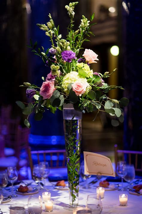 pittsburgh wedding reception event flowers table