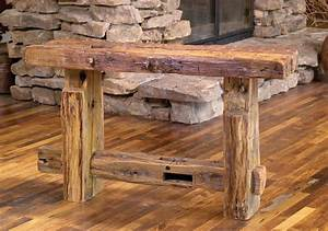 the great ideas of the reclaimed wood furniture With barn yard furniture
