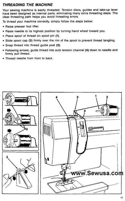 Singer Sewing Machine Threading Diagram Lets