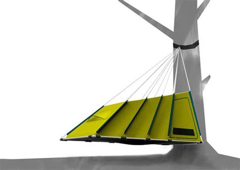 Hanging Hammock Tent by Prototypes Hanging Tent Rolled Foam Hammock Gearjunkie