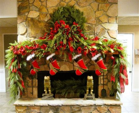 christmas mantel images 35 beautiful christmas mantels style estate