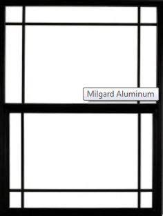 images  milgard aluminum windows  pinterest aluminum awnings single hung windows