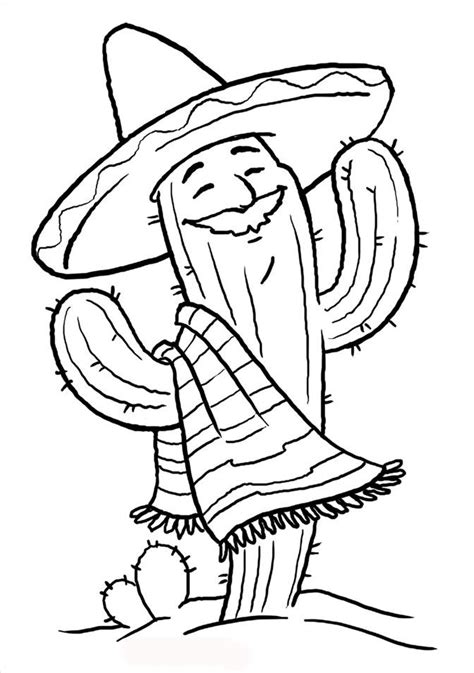 printable cinco de mayo coloring pages  kids  coloring pages  kids