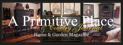 Country Primitive Home Décor: A Primitive Place Home