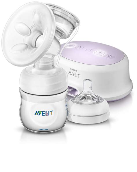 Comfort Single Electric Breast Pump Scf33201 Avent